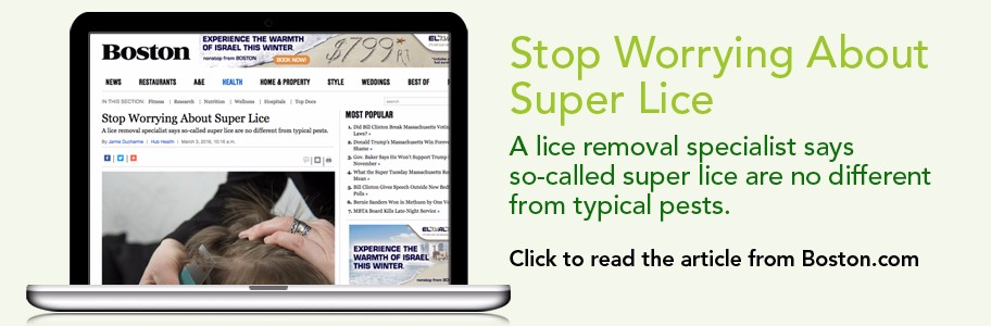 NitWits in the News! Stop Worrying About Super Lice from Boston Magazine